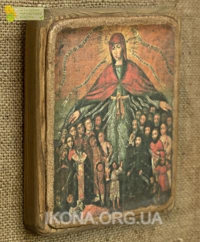 Ікона Покров Богородиці - №102