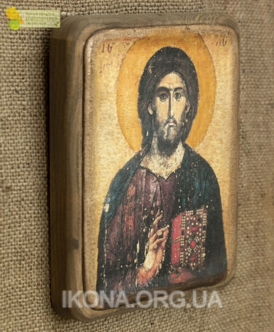 Ікона Христос Пантократор (Хіландарський) 13ст. - №13