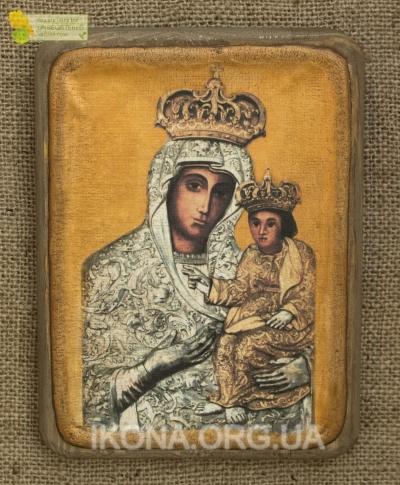 Унівська ікона Божої Матері (Одигитрія) - №7