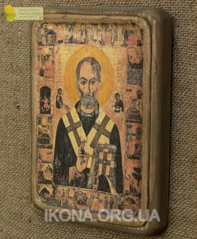 Ікона Святий Миколай Чудотворець 13 ст. - №38
