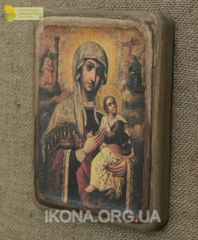 Ікона Богородиці Одигтирія неустанної помочі 18 ст.- №4