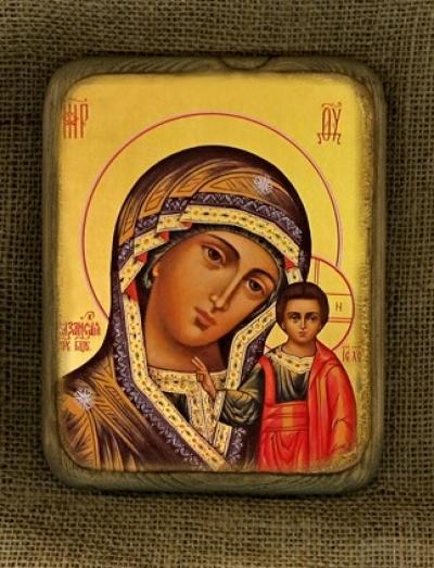Ікона Богородиця Казанська - №156
