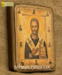 Ікона Святий Миколай Чудотворець 13 ст. - №20