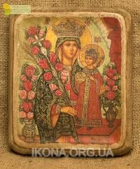 Ікона Богородиця Нев'янучий цвіт - №73