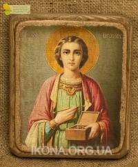 Ікона Святий Пантелеймон - №107