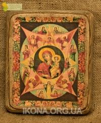 Ікона Богородиця Неопалима купина - №75