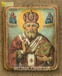 Ікона Святий Миколай Чудотворець - №114