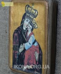 Крехівська ікона Божої Матері (Замилування) 17ст. - №5