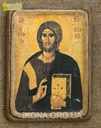 Ікона Ісус Христос Пантократор 13 ст. - №44