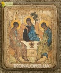 Ікона Свята Трійця (автор А. Рубльов), 1411р. - №52