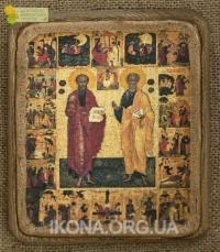 Ікона Апостоли Петро і Павло 16 ст. - №40