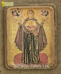 Ікона Богородиці Оранта Велика Панагея 13ст.- №3