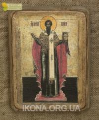 Ікона Святий Василій 18 ст. - №47