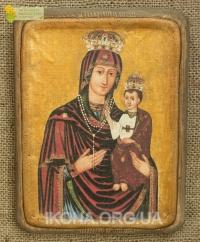 Теребовлянська чудотворна ікона Божої Матері 17ст. - №33