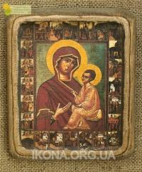 Тихвінська ікона Божої Матері (Замилування) 17ст. - №61