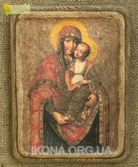 Ікона Богородиця Замилування 17ст. - №64