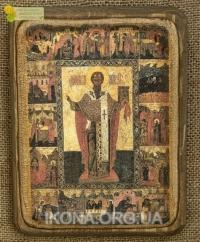 Ікона Святий Степан (з житієм), 16 ст. - №46
