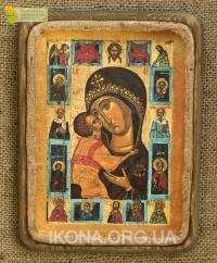 Ікона Богородиця Замилування 16 ст. - №68