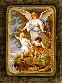 Ікона Янгол Охоронець - № 126
