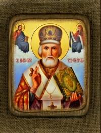 Ікона Святий Миколай Чудотворець - №145