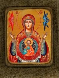 Ікона Богородиця Знамення - №158
