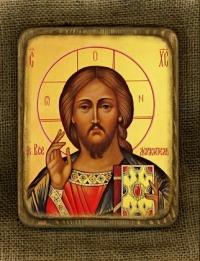 Ікона Христос Пантократор - № 157